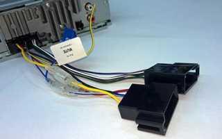 Как подключить магнитолу в машине схема проводов