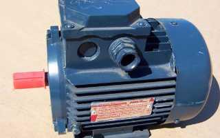 Трехфазный асинхронный двигатель схема