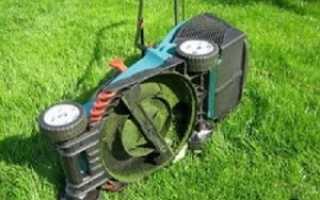Самоходная газонокосилка своими руками