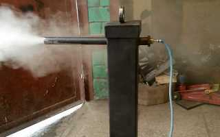Размеры дымогенератора для холодного копчения