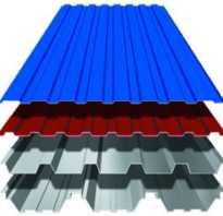 Крыша из металла профиля