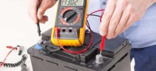 Зарядка авто аккумулятора зарядным устройством