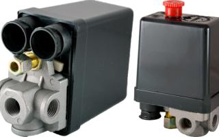 Клапан давления компрессора воздушного