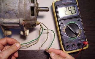 Схема подключения двигателя стиральной машины через конденсатор