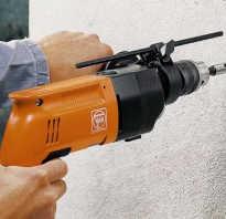 Как просверлить дрелью отверстие в бетонной стене