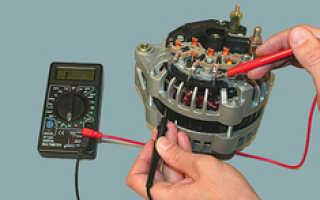 Как проверить обмотку якоря генератора