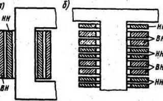 Обмотки трансформатора изготавливают из