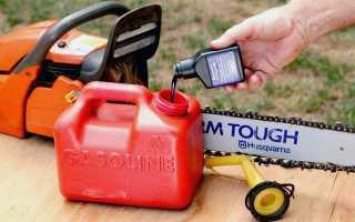 Сколько масла в бензин для бензопилы штиль