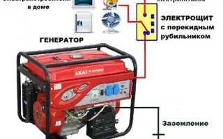Подключение дизель генератора к сети в доме