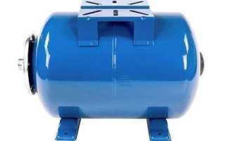Сколько воды в гидроаккумуляторе 100 литров